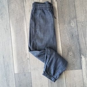 NWT Eileen Fisher Pull on Chambray Pant